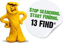 Stop Searching. Start Finding. 13 FIND